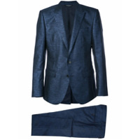 Dolce & Gabbana two-piece sparkly suit - Blue