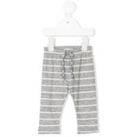 Tocotò Vintage drawstring striped trousers - White