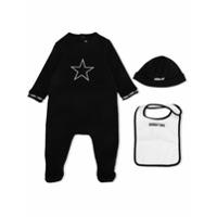 Givenchy Kids trio pajama set - Black