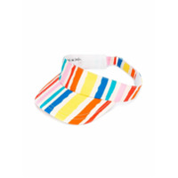 Noé & Zoe striped visor - Multicolour