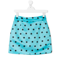 Marco Bologna Kids polka dot skirt - Blue