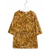 Anne Kurris 'Ann' velvet bambi dress - Brown