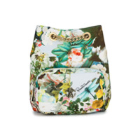 Roberto Cavalli Kids floral print shoulder bag - Multicolour