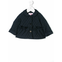 Il Gufo quilted field jacket - Blue