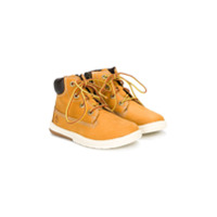 Timberland Kids lace-up ankle boots - Brown