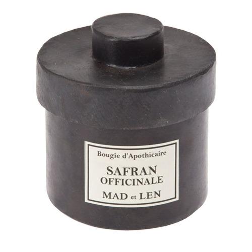 Billede af Mad Et Len 'Official Saffron' candle - Black