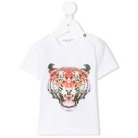 Marcelo Burlon County Of Milan Kids tiger print T-shirt - White