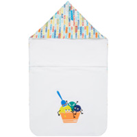 Fendi Kids fruity changing mat - White