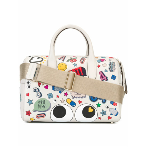 Billede af Anya Hindmarch allover patches tote - White