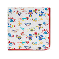 Fendi Kids Piro-Chan blanket - Multicolour