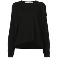 Isabel Benenato bat wing sweater - Black