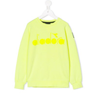 Diadora Junior logo sweatshirt - Yellow & Orange