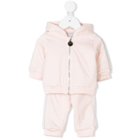 Givenchy Kids zipped jacket and track pants set - Pink & Purple