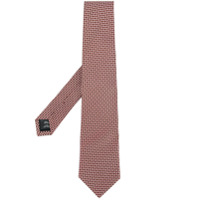 Gieves & Hawkes embroidered circles tie