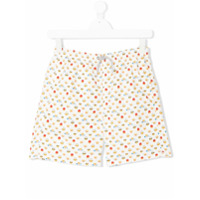 Mc2 Saint Barth Kids TEEN emoji print swim shorts - Multicolour