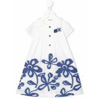 Familiar floral print dress - White