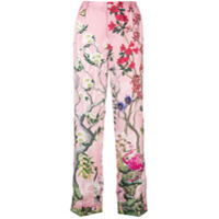 F.R.S For Restless Sleepers floral pyjama trousers - Pink & Purple