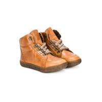 Pèpè lace up boots - Brown