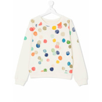 American Outfitters Kids polka dot print sweatshirt - Nude & Neutrals