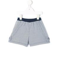 Familiar striped shorts - Blue
