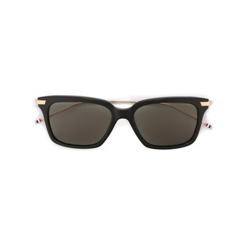 Bild på Thom Browne Eyewear Black Acetate & Titanium Sunglasses
