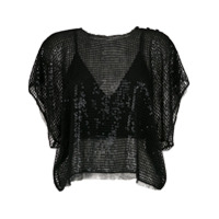 Nk tricot blouse - Black