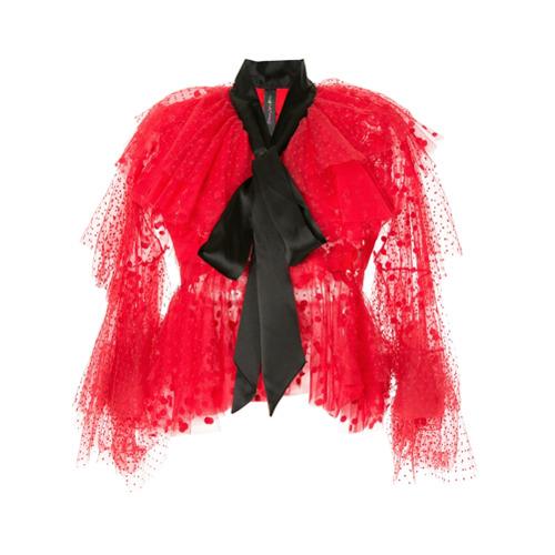 Bild på Romance Was Born Cherry Bomb lace blouse - Red