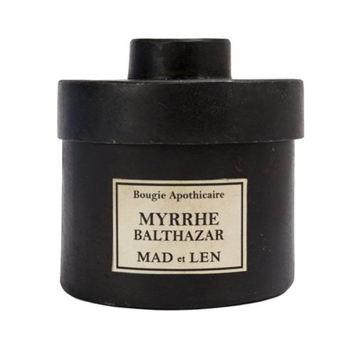 Billede af Mad Et Len 'Myrrhe balthazar' candle - Black
