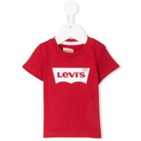 Levi's Kids logo branded T-shirt - Red