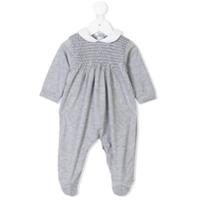 Siola diamond smocked pajamas - Grey