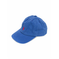 Ralph Lauren Kids embroidered logo cap - Blue