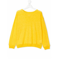 Bellerose Kids lightweight knitted jumper - Yellow & Orange