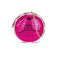 Emilio Pucci Junior sequin embellished circular mini bag - Pink & Purple