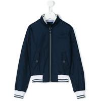 Aston Martin Kids zip-up jacket - Blue