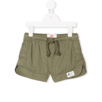 American Outfitters Kids contrast-stitch drawstring shorts - Green