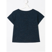 American Outfitters Kids TEEN metallic sequined T-shirt - Blue