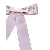 Jennifer Behr bow hair clip - Pink & Purple
