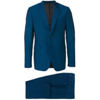 Paul Smith notch collar suit jacket - Blue