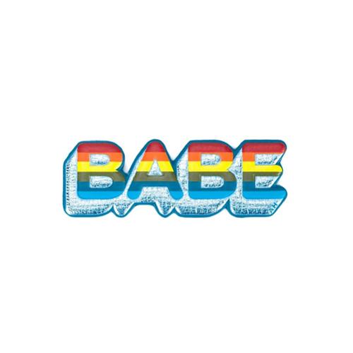 Billede af Anya Hindmarch 'Babe' sticker - Multicolour