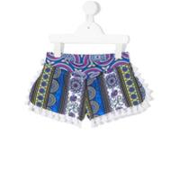 Mc2 Saint Barth Kids printed shorts - Multicolour