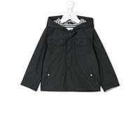 Lapin House multi-pocket padded jacket - Blue