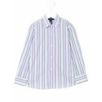 Oscar De La Renta Kids striped dress shirt - Multicolour