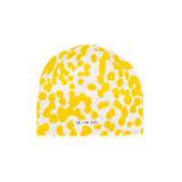 Noé & Zoe printed beanie - Yellow & Orange