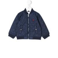 Ralph Lauren Kids quilted jacket - Blue