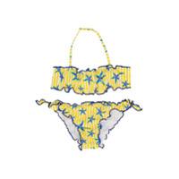 Mc2 Saint Barth Kids sea star print bikini - Yellow & Orange