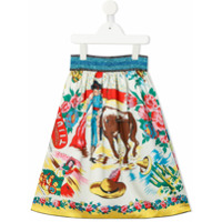 Go To Hollywood multiple prints skirt - Blue