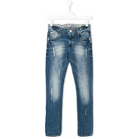 Vingino TEEN distressed-effect jeans - Blue