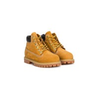 Timberland Kids lace-up boots - Brown