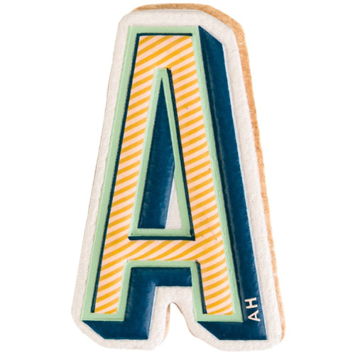 Billede af Anya Hindmarch 'A' sticker - Multicolour