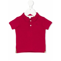 Burberry Kids classic ribbed polo shirt - Red